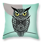 Owl 5 Throw Pillow