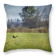 Owl Hunting No. 2 Throw Pillow