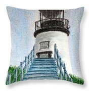 Owls Head Up To The Light Throw Pillow