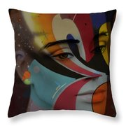 Own My Colour  Throw Pillow
