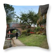 Oxford Canal Throw Pillow