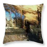 Oxford School Of Music Throw Pillow