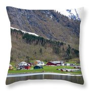 Oye Norway Throw Pillow