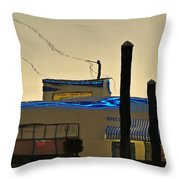 Oyster House Reflection Throw Pillow