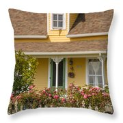 Oysterville Home 8 Throw Pillow