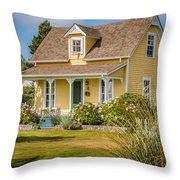 Oysterville Home 9 Throw Pillow