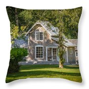 Oysterville House 7 Throw Pillow