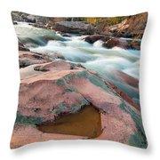 Ozark Stream Throw Pillow