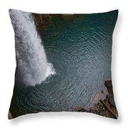 Ozone Falls Throw Pillow