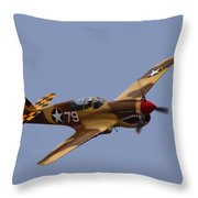 P-40 Throw Pillow