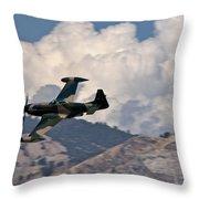 P-51 Patrol Throw Pillow