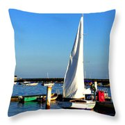 P-town Throw Pillow