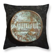 P1967 A T Throw Pillow