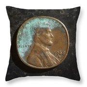P1968 B H Throw Pillow