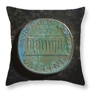 P1970 A T Throw Pillow