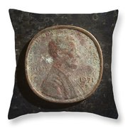 P1971 B H Throw Pillow