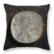 P19xx A H Throw Pillow