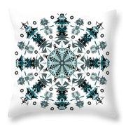 P2 Mandala Throw Pillow