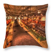 Pa Railroad Museum - 1652 Throw Pillow