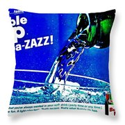 Pa-zazz Throw Pillow