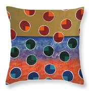 Pacman Zombies Awaking At Sun-rise Throw Pillow