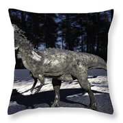Pachycephalosaurus Throw Pillow