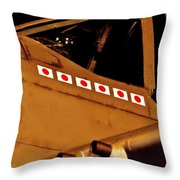 Pacific Ace Throw Pillow