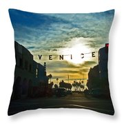 Pacific Ave Throw Pillow