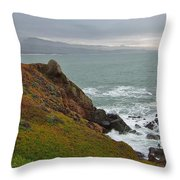 Pacific Coast Colors Throw Pillow