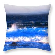 Pacific Grove Surf 19806 Throw Pillow