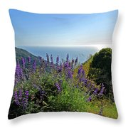 Pacific Lupines Throw Pillow