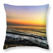 Pacific Palisades California  Throw Pillow
