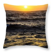 Pacific Reflection Throw Pillow