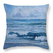 Pacific Rhythms  Throw Pillow