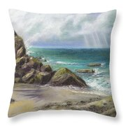 Pacific Splendor Throw Pillow