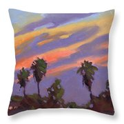 Pacific Sunset 1 Throw Pillow