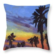 Pacific Sunset 2 Throw Pillow