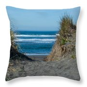 Pacific Trail Head Throw Pillow