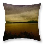 Pack Lake Throw Pillow