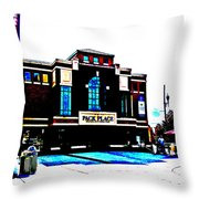 Pack Place In High Contrast Throw Pillow