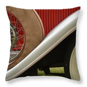 Pack Up Your Worries In A Packard Throw Pillow