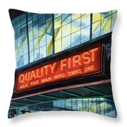 Packard Motor Car - Ask The Man Who Owns One - 1937 Throw Pillow
