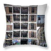 Packard Plant Detroit Michigan - 14 Throw Pillow