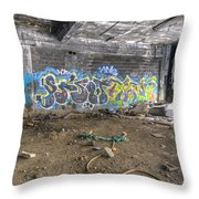 Packard Plant Detroit Michigan - 8 Throw Pillow