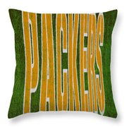 Packers Throw Pillow