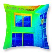 Packers Pro Shop Throw Pillow
