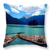 Packwood Lake Throw Pillow