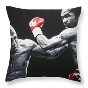 Pacman V Cotto Throw Pillow