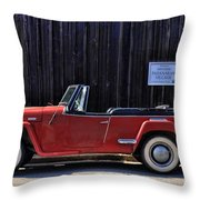 Padanaram Village Throw Pillow