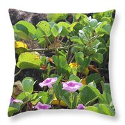 Padre Flowers Throw Pillow